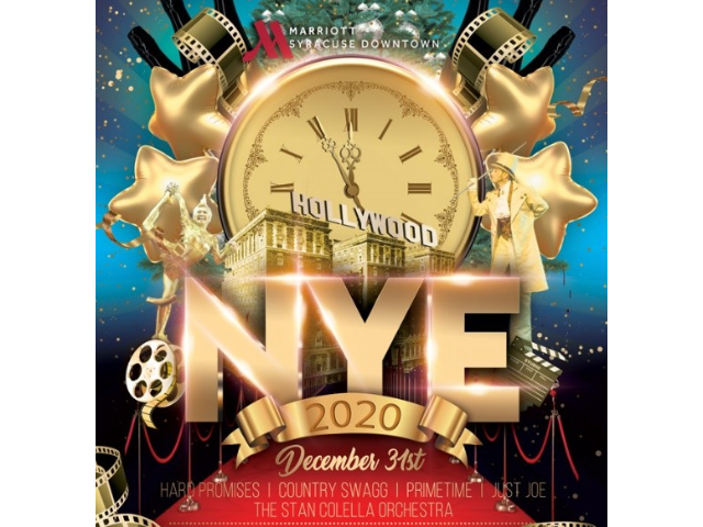 The Golden Age of Hollywood New Year's Eve Party at Marriott Syracuse Downtown