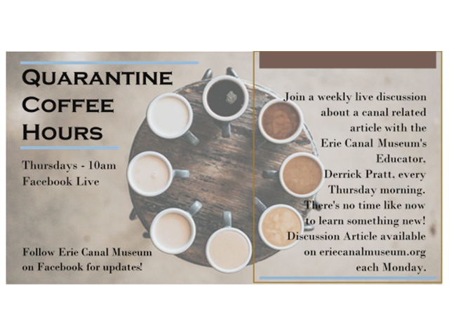 Quarantine Coffee Hours