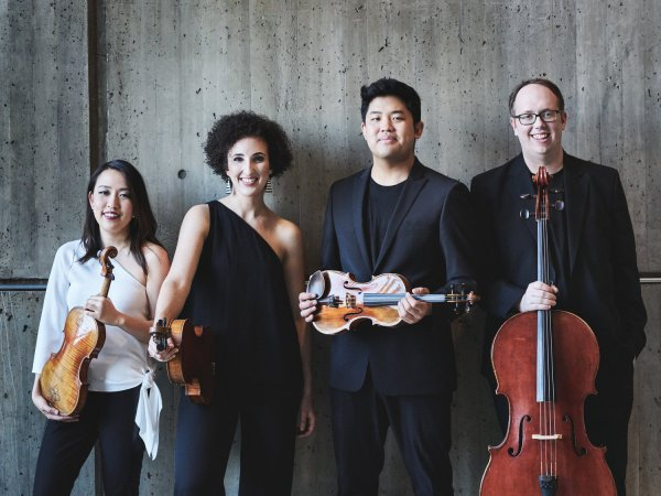 Geneva Music Festival, OPENING NIGHT: THE VERONA QUARTET with Jinjoo Cho, violin and Michelle Cann, piano