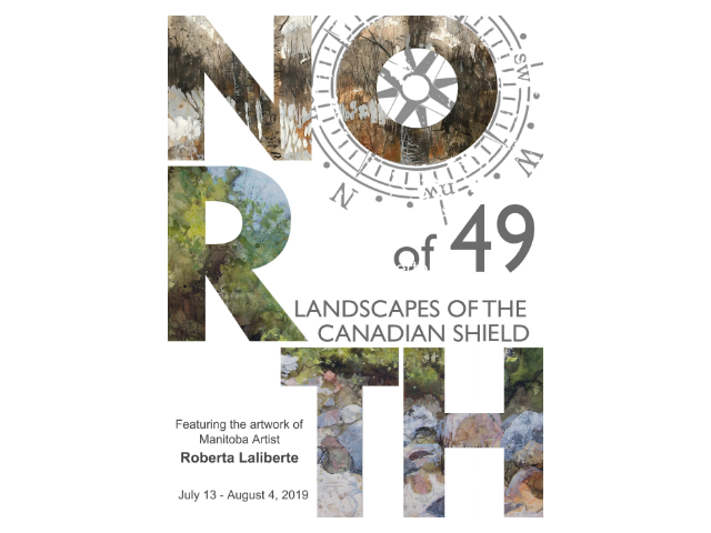 "Art Exhibit: ""North of 49"" with Roberta Laliberte"