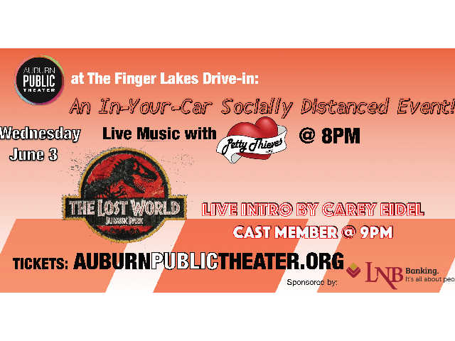 APT at the Finger Lakes Drive-In: Live Music & Movie Night!
