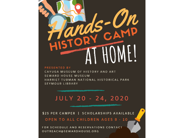 Hands-On History Camp: At Home