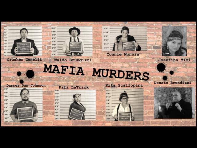 Mafia Murder - A Virtual Murder Mystery