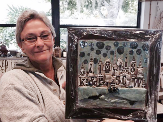 Make a Handmade Tile & Sculpture with TV Personality Rhoda Kahler