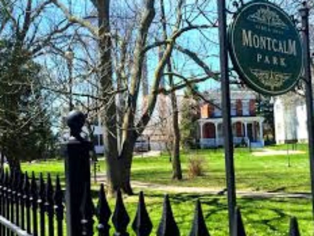 Walking Tour of Montcalm Park Historic District, Oswego NY