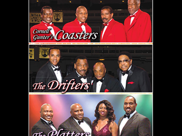 The Drifters, The Platters & Cornell Gunter's Coasters
