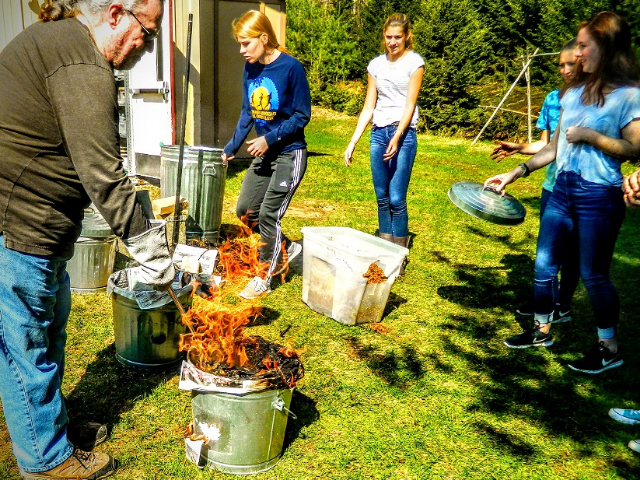 Raku Pottery And Firing Workshop With Scot Foley