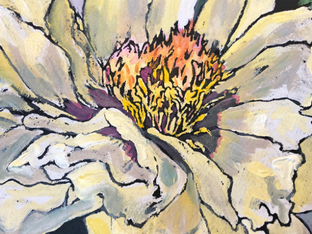 Artist Workshop: Mixed-Media Flowers Terry Lynn Cameron