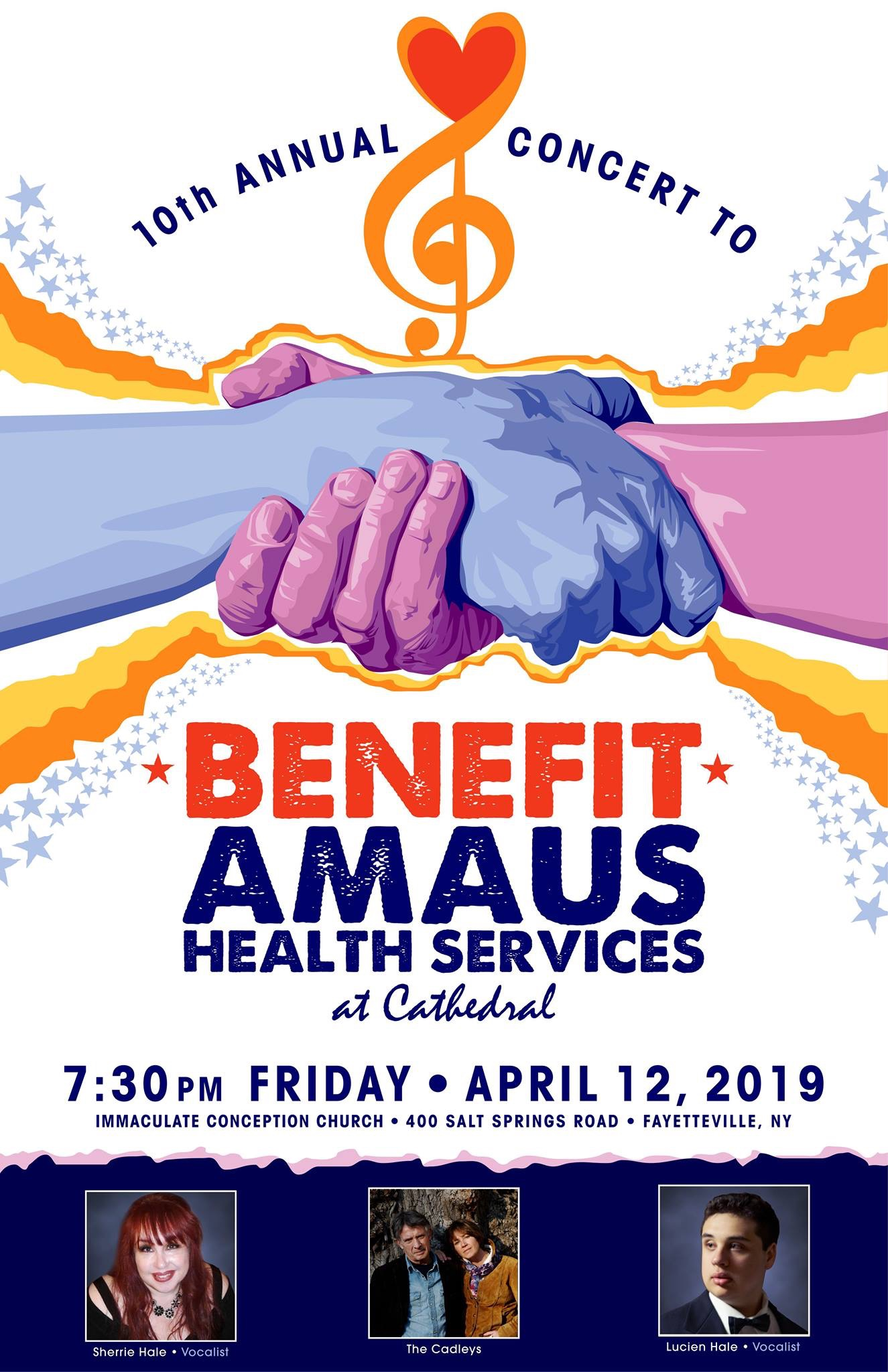 Annual Concert to Benefit AMAUS Health Services at